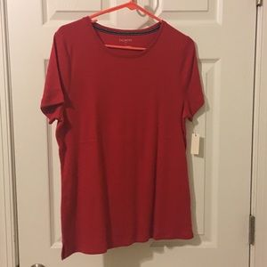 Brand new!!! Talbots red T-shirt